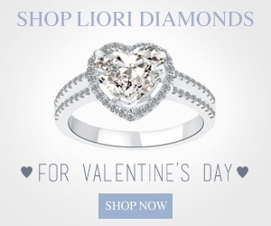 valentines day diamond present