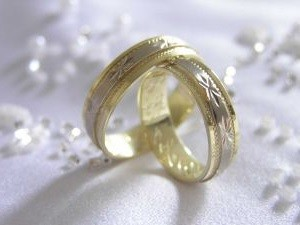 wedding bands gold